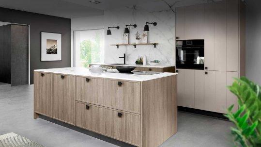 kitchen trends black design features