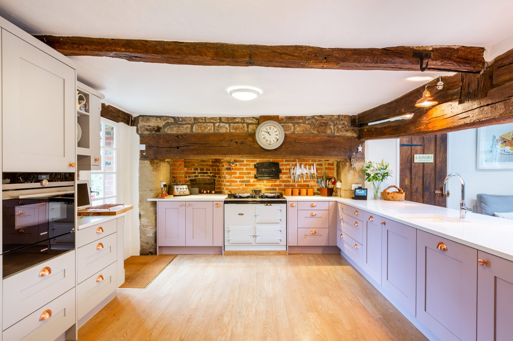 kitchen for period farmhouse