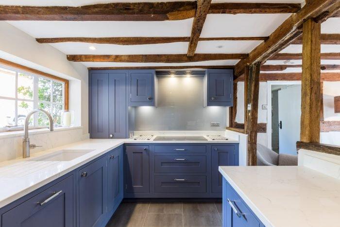 Shaker kitchen in period cottage
