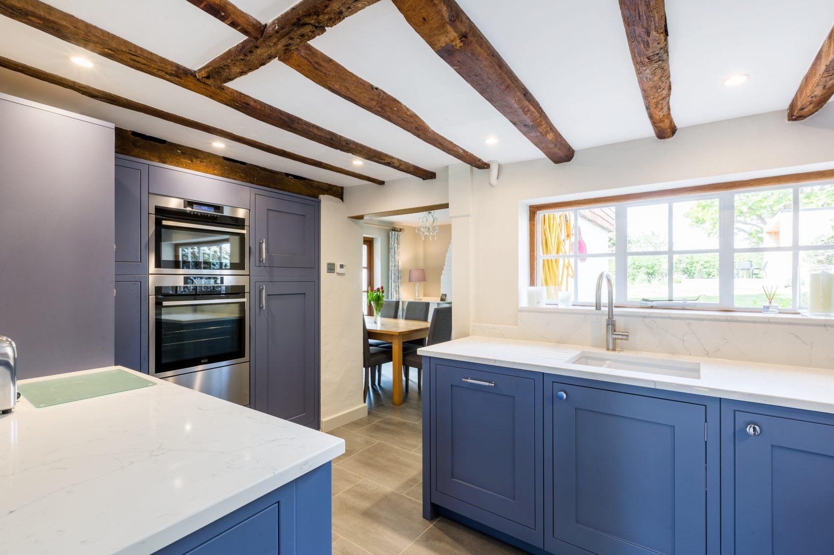 shaker kitchen design for period cottage