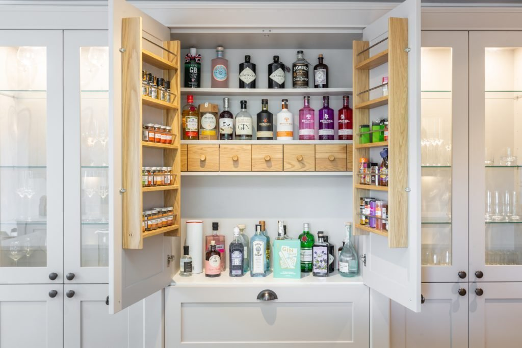 Kitchens Bespoke Integrated Pantry Unit