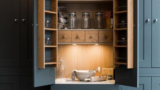 kitchens bespoke perfect pantry