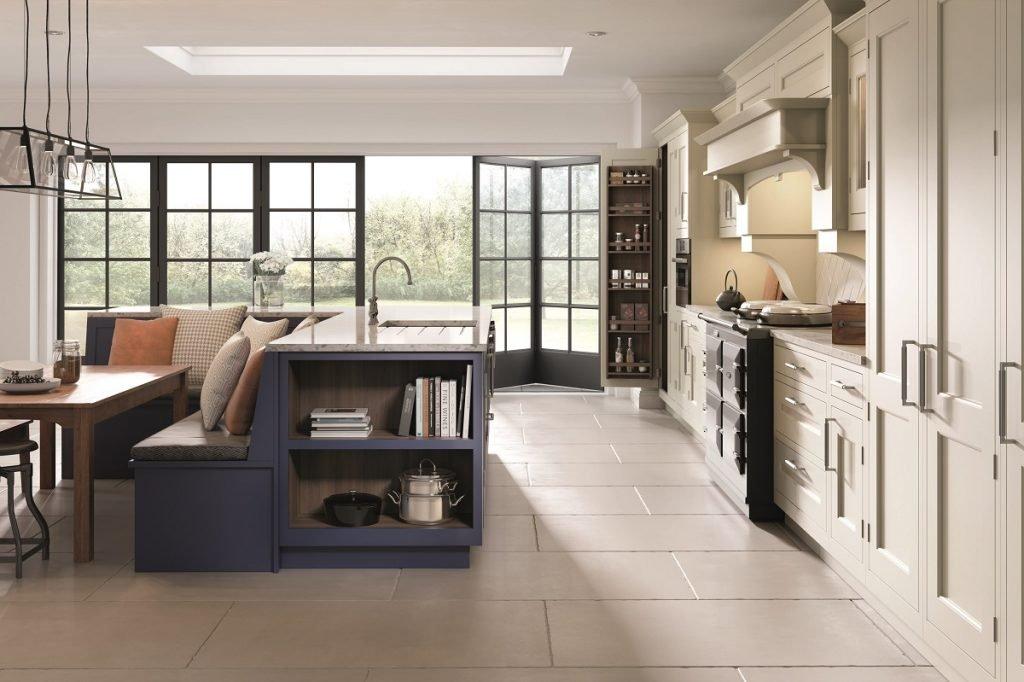Big kitchen design concept