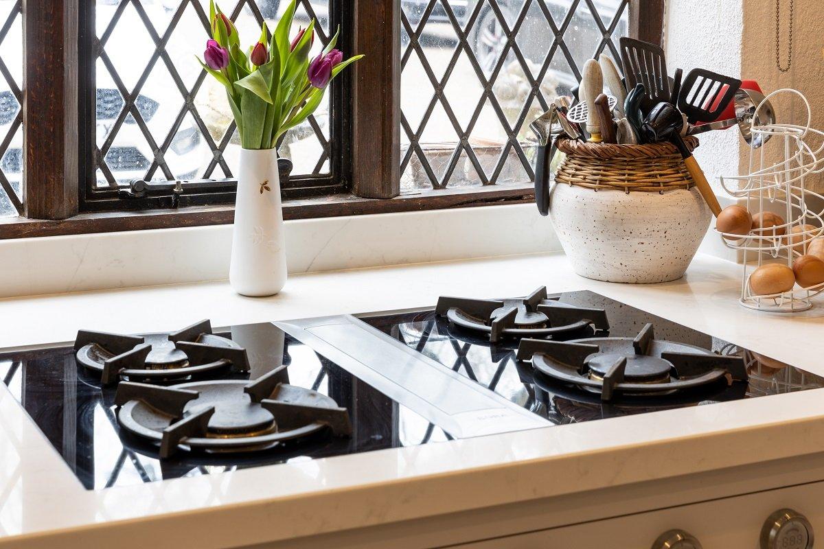 kitchen design featuring a Bora hob