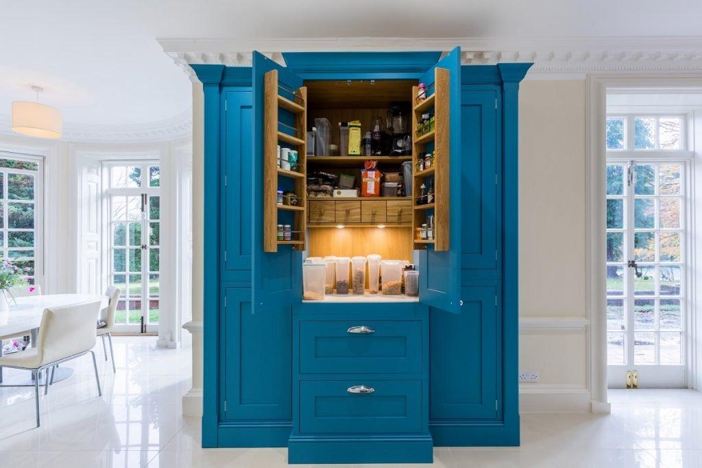Kitchen storage ideas - bespoke pantry