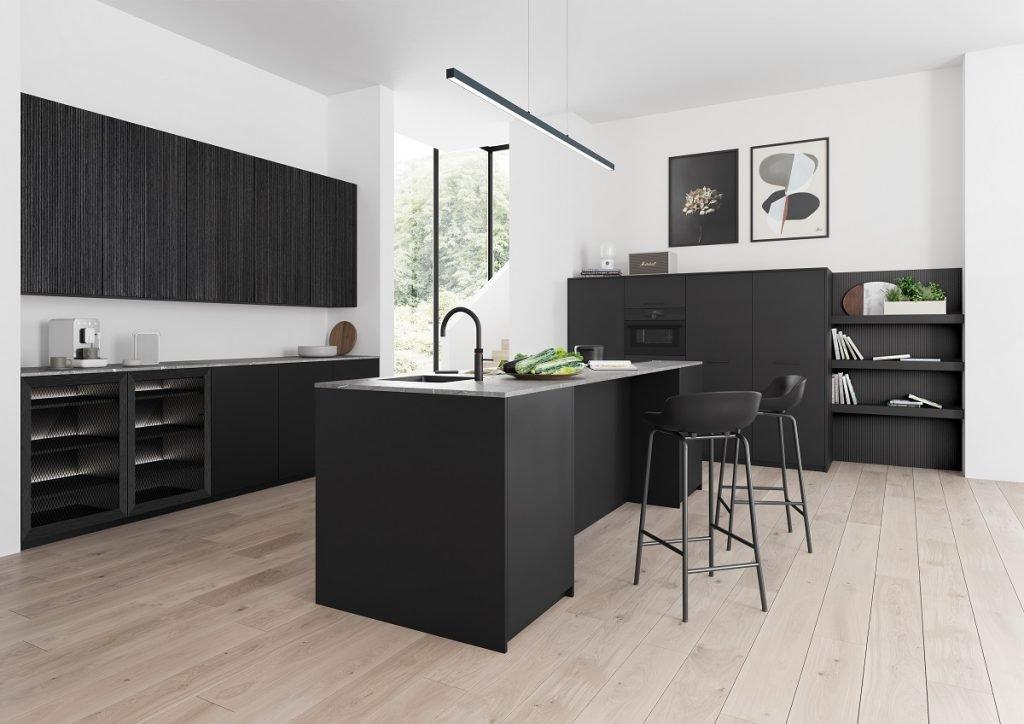 Black rotpunkt kitchen