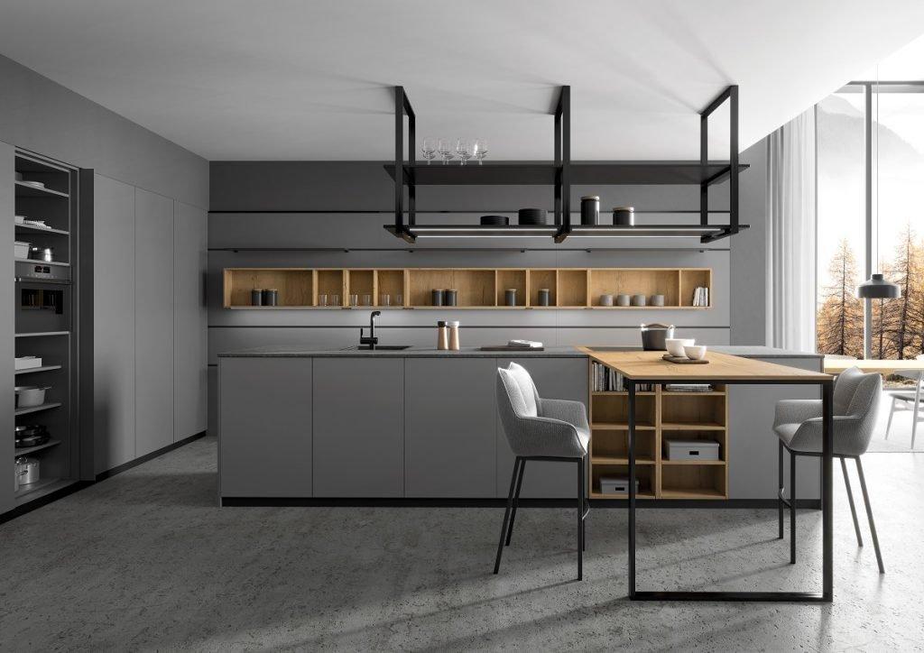 handleless german kitchen